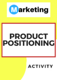 Product Positioning Marketing Activity
