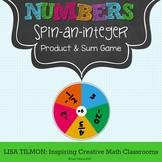 Rational Numbers: Spin-an-Integer Product and Sum Game