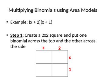 Product of Binomials