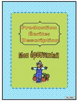 Production Écrite: La description (Mon épouvantail)