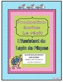 Production écrite: Le récit (L'Assistant du Lapin de Pâques)