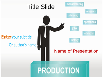 Production PPT Template