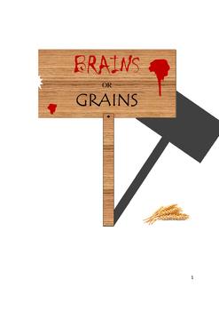 Production Possibilities Frontier (PPF) - Brains vs. Grains