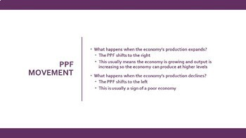 Production Possibilities Frontier (PPF) Economics Lesson!