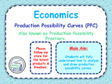 Production Possibility Curves / Frontiers / Diagrams (PPC) - Opportunity Cost