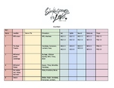 Production (Show) Cue Sheet