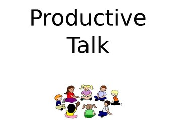 Productive Talk Expectations
