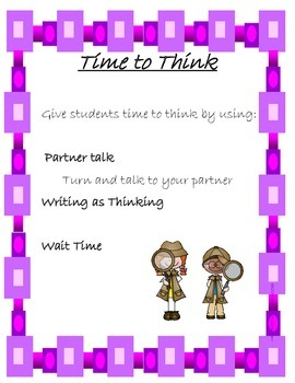 Productive Talk Posters