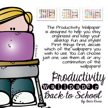 Productivity Wallpapers: Back to School