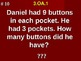 Products Of Whole Numbers Word Problems 3.OA.1 Fill In Blank Assessment