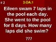 Products Of Whole Numbers Word Problems 3.OA.1 Fill In Bla