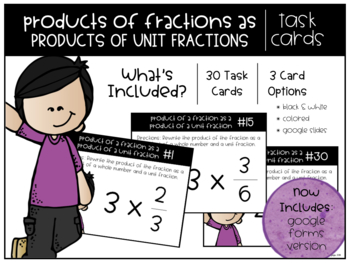 Products of Fractions as Products of Unit Fractions