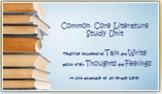 Prof Development-How to Teach a Common Core Literature Study Unit - For Teachers