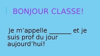 Prof du Jour (Primary)