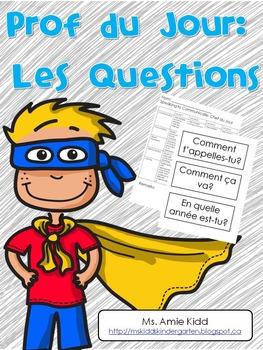 Prof du Jour - Primary/Junior French Activities
