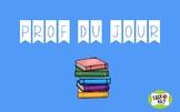 Prof du Jour / Teacher of the Day