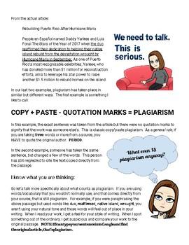 Profe Pistole Talks Plagiarism