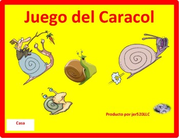 Profesiones (Professions in Spanish) Caracol Snail game