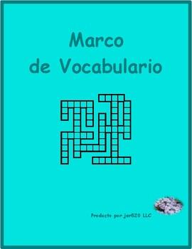 Profesiones (Professions in Spanish) Kriss Kross puzzle
