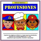 Profesiones Thematic Unit in Spanish