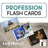Profession Flash Cards - Real Photos!