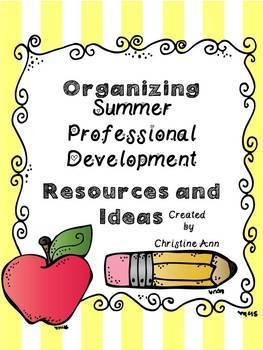 Professional Development Binder