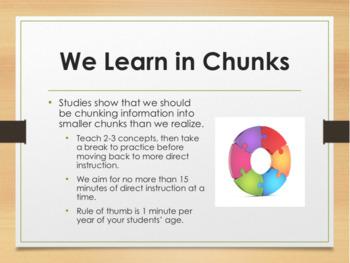 Professional Development:  Brain-Based Learning