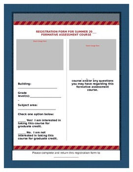Professional Development Course Flyer Template