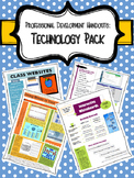 Professional Development Handouts- Technology Pack