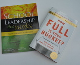 Professional Development Books How Full is Your Bucket and