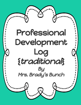Professional Development Log