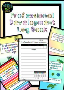 Professional Development Log Book - Aus - Editable!
