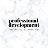 Professional Development Log & Meeting Notes
