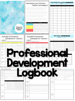 Professional Development Logbook Linking Australian Teaching Standards