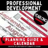 Professional Development [PD] Calendar & Planning Guide