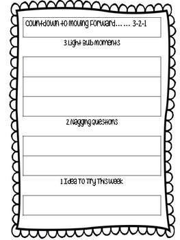 Professional Development Reflection Sheet