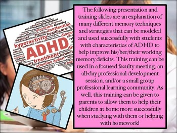 Professional Development Training: Memory Techniques for ADHD Students