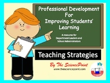 Professional Development Workshop for Teachers: Teaching Strategies