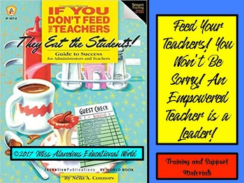 Professional Development for Administrators: Feed Your Teachers!