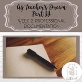 Week 2: Professional Documentation