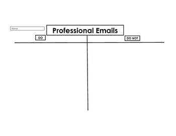 Professional Email: Do's and Don'ts