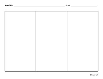 Professional Graphic Organizers