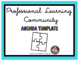 Professional Learning Community (PLC) Agenda Template