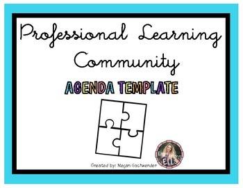 Professional Learning Community (PLC) Agenda Template