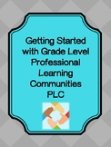 Professional Learning Community PLC resources