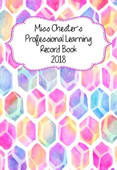 Professional Learning Record Book #11