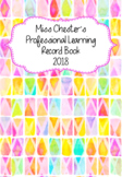 Professional Learning Record Book #12