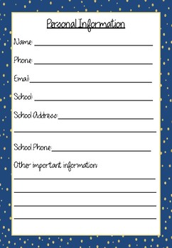 Professional Learning Record Book #13