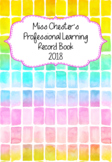 Professional Learning Record Book #14