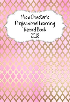 Professional Learning Record Book #15